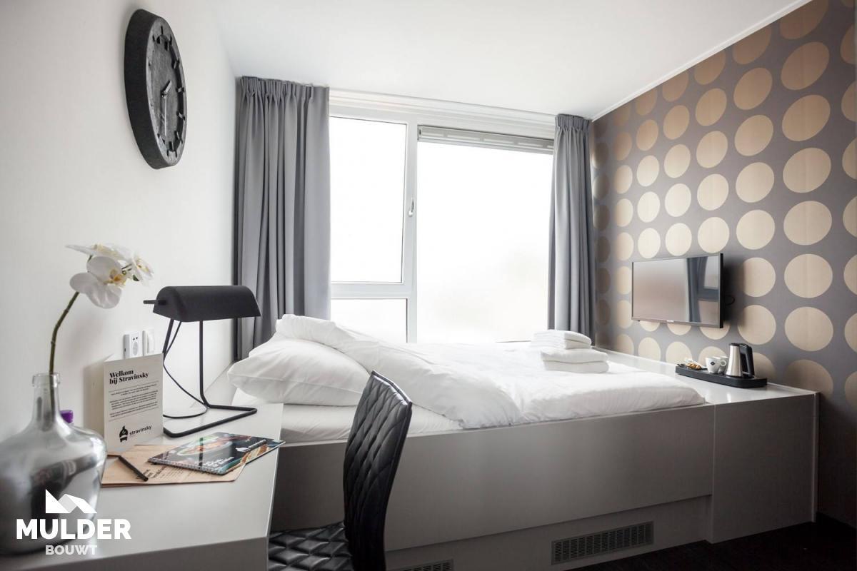 Verbouwing hotelkamers