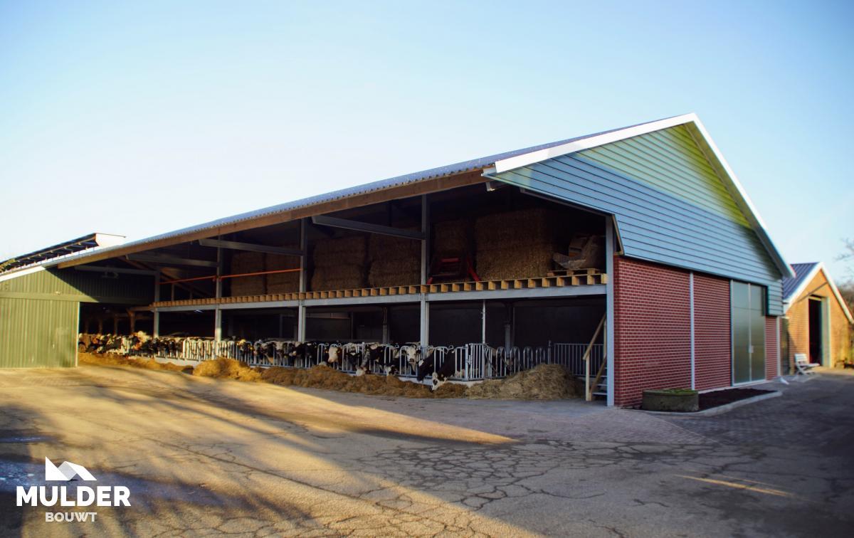 Strostal op biologische boerderij