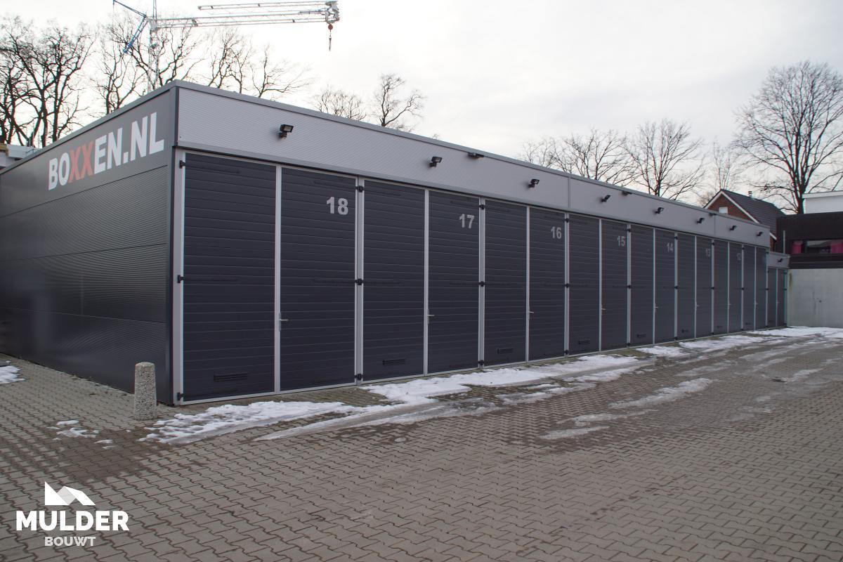 Boxxen op het Roombekerveld in Enschede