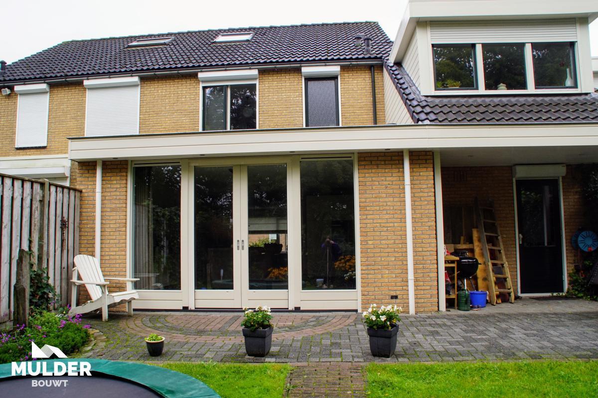Aanbouw in Wierden