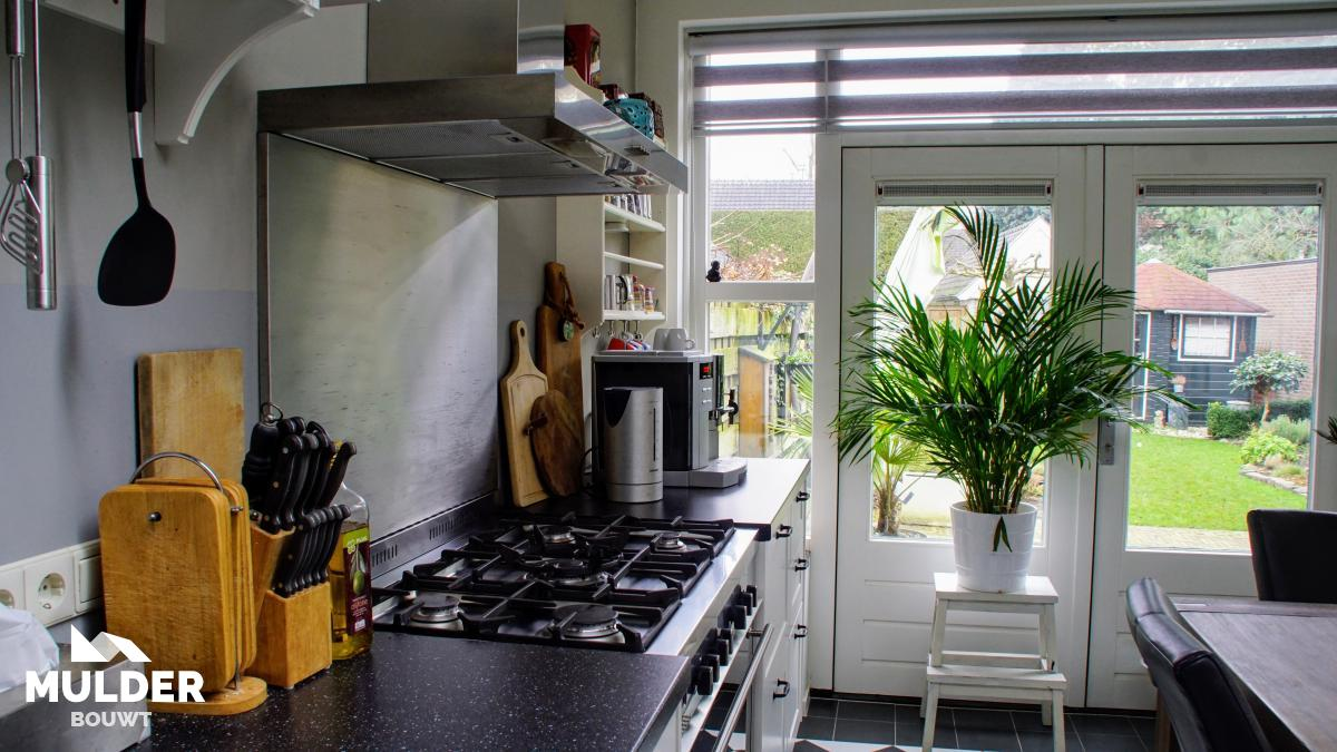 Uitbouw keuken in Hengelo