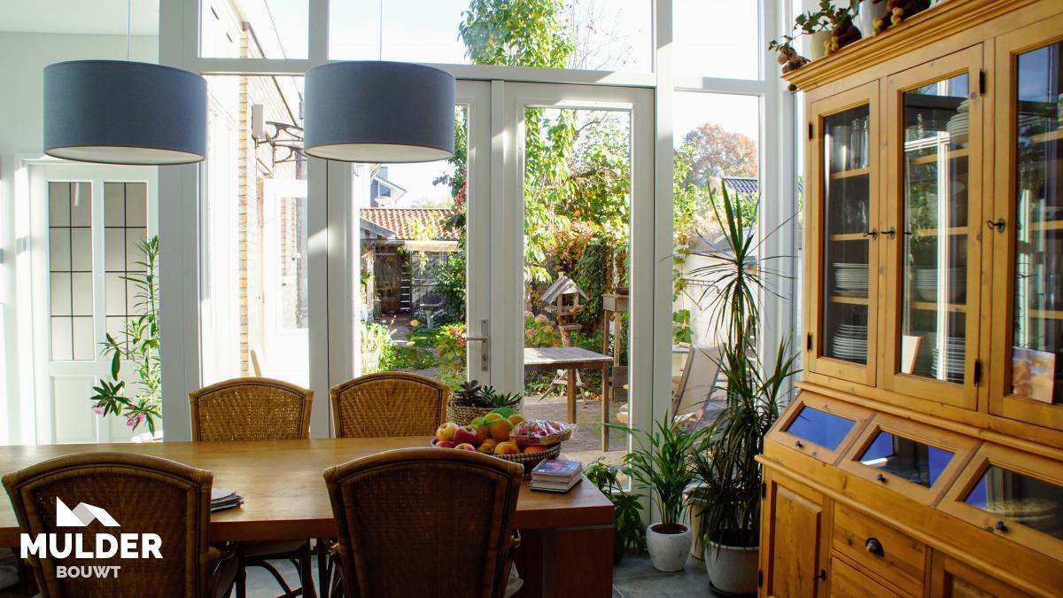 Uitbouw keuken in Almelo