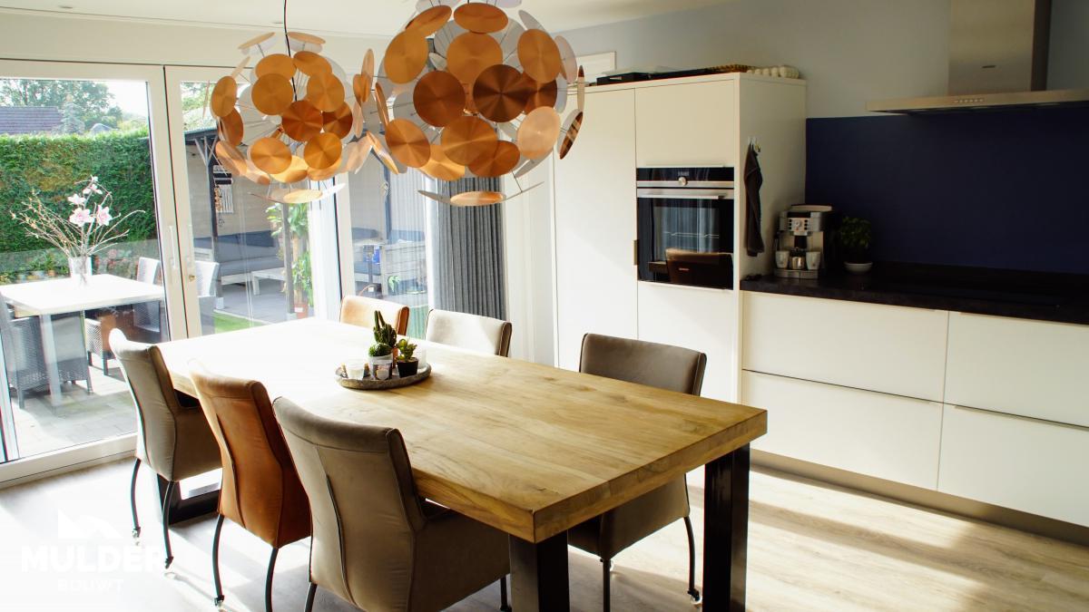 Uitbouw keuken in Delden