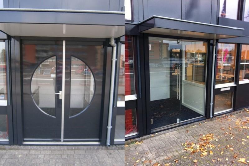 Entree bedrijfspand in Almelo