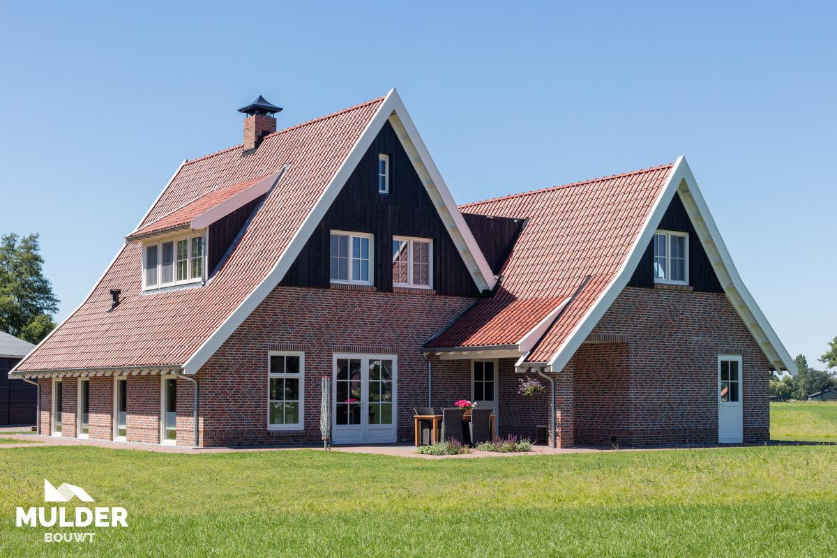 Twee saksische woningen in Haaksbergen