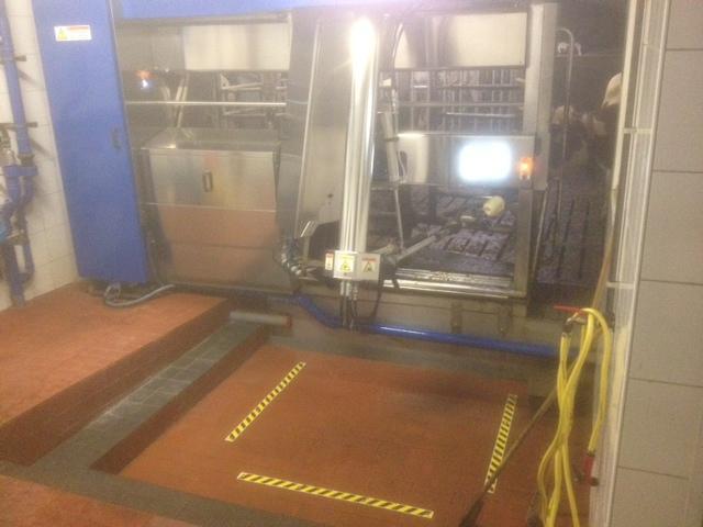 Plaatsen melkrobot in Beckum