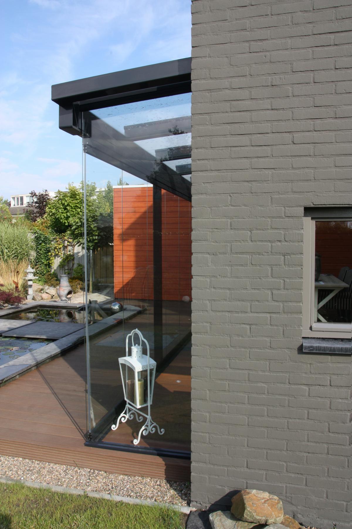 Serre aan woonhuis in Hengelo