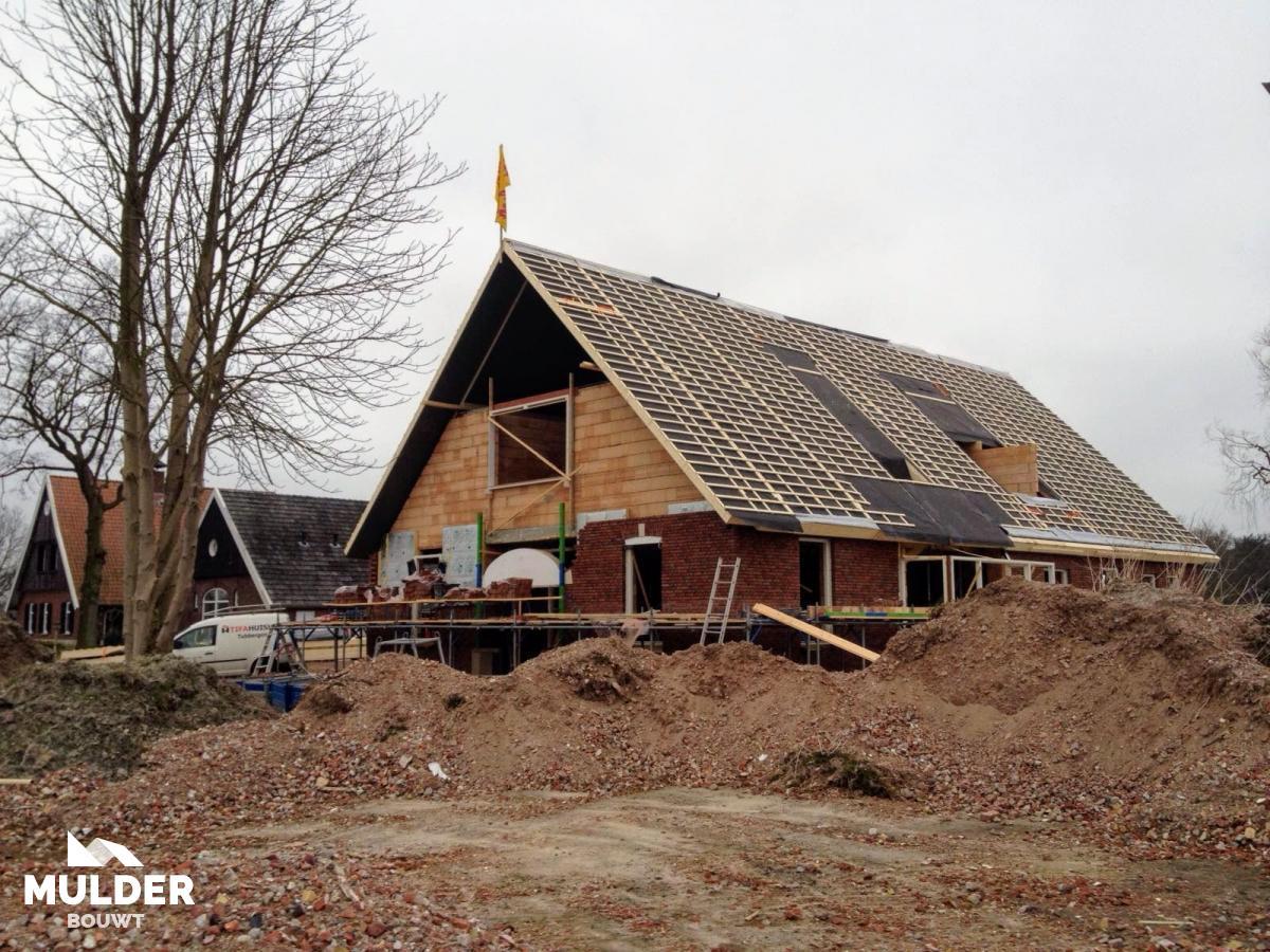 Woonhuis saksische stijl in Beckum