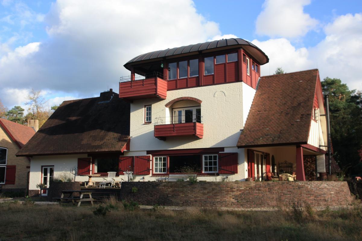 Dakopbouw uitkijkkamer in Beckum