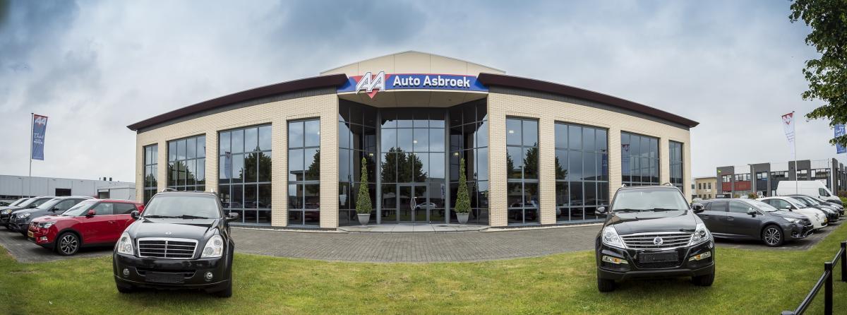 Bedrijfspand Auto Asbroek in Haaksbergen
