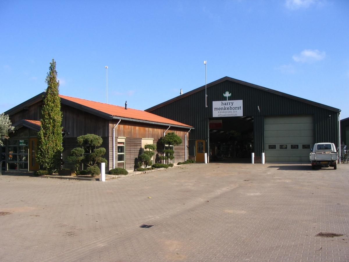 Opslaghal en kantoor in Hengelo